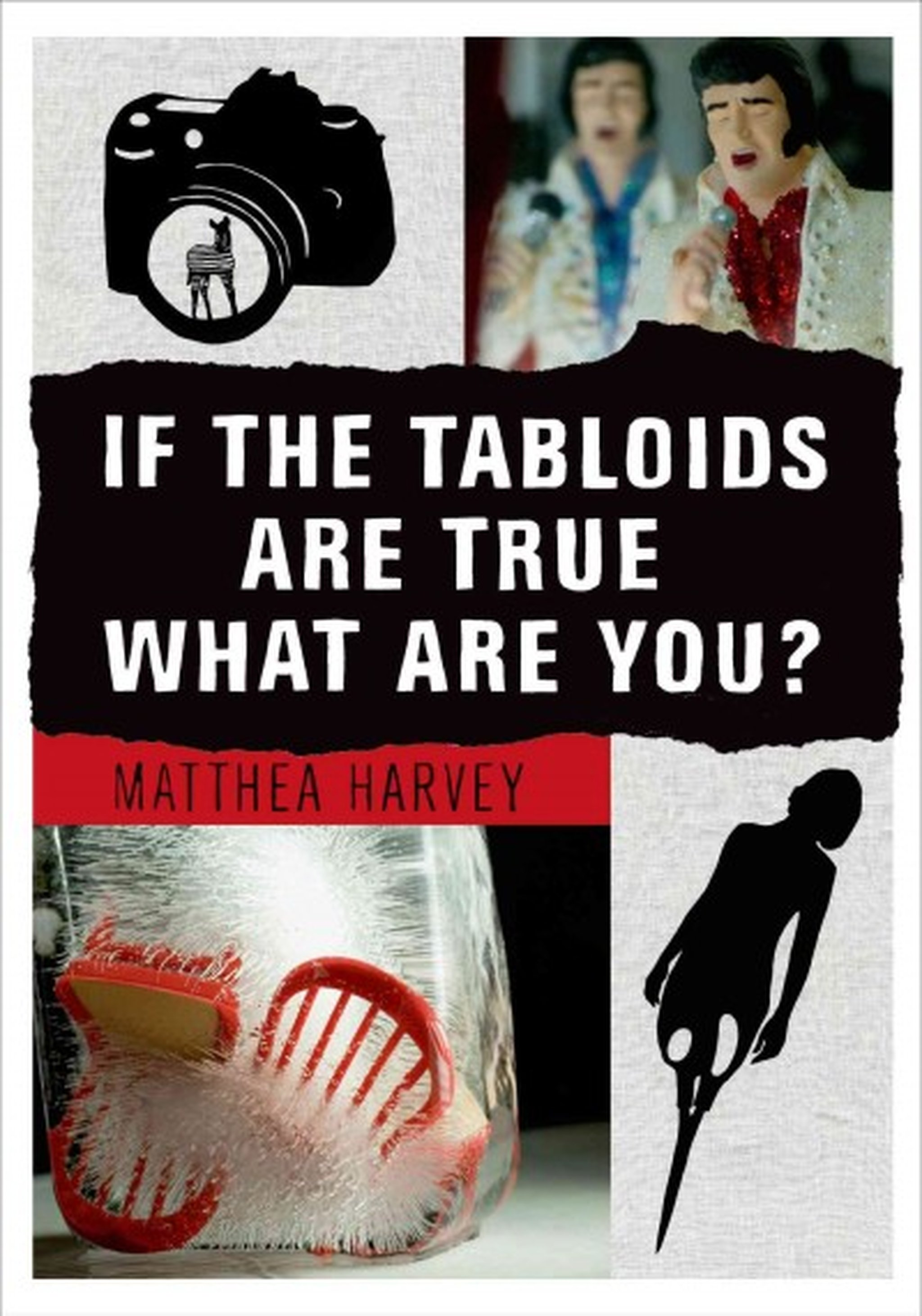 Review: IF THE TABLOIDS ARE TRUE WHAT ARE YOU? by Matthea Harvey