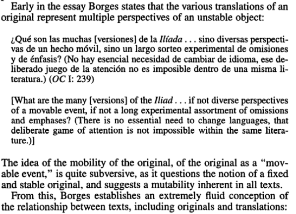 Feature Craft Essay By Aristilde Kirby  Bwr From Borges And Translation The Irreverence Of The Periphery By Sergio  Gabriel Waisman Mental Health Essays also Science Vs Religion Essay  Advanced English Essays